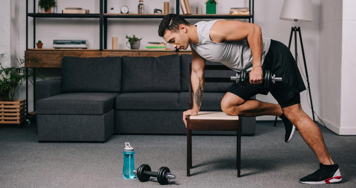 Stwórz siłownię w domu